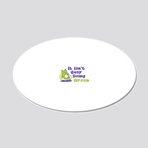 beinggreen 20x12 Oval Wall Decal