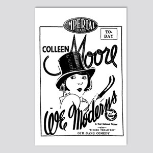 Colleen Moore WE MODERNS Postcards (Package of 8)