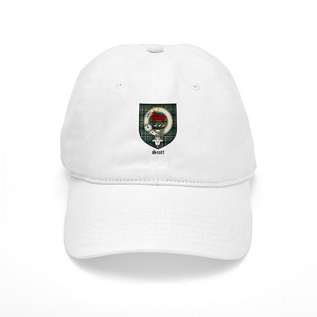 Scott Clan Crest Tartan Cap