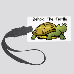 beholdturtle Large Luggage Tag