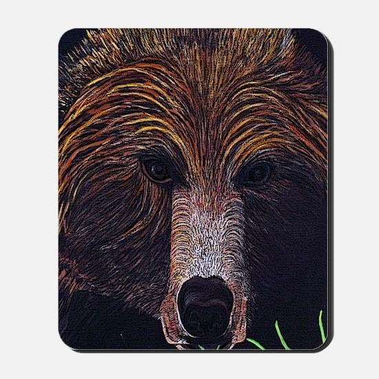 bear-journal Mousepad