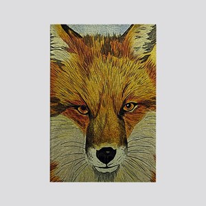 fox journal Rectangle Magnet