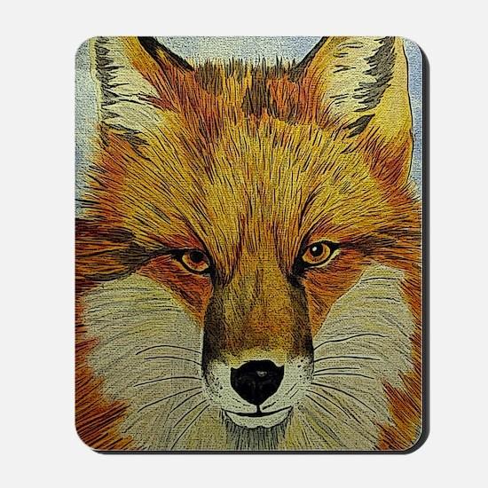 fox journal Mousepad