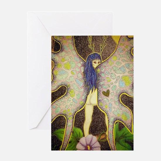 fairy-journal Greeting Card