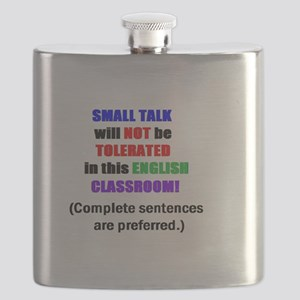 SMALL TALK COLOR USE 9999  Flask