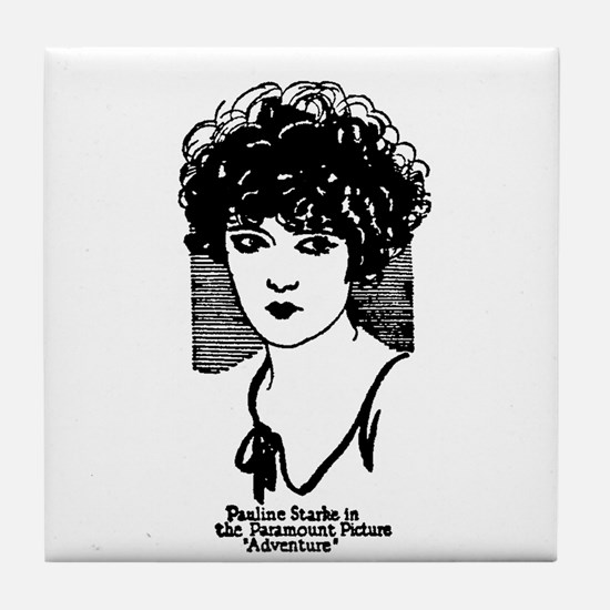 Pauline Starke 1925 Tile Coaster