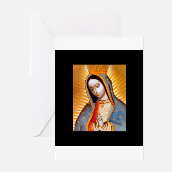 Virgen de Guadalupe - Patrone Greeting Cards (Pack