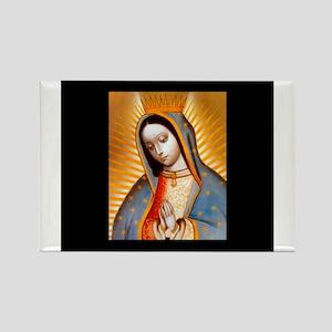 Virgen de Guadalupe - Patrone Rectangle Magnet