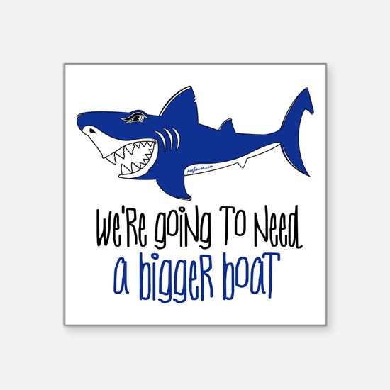 "biggerboat Square Sticker 3"" x 3"""