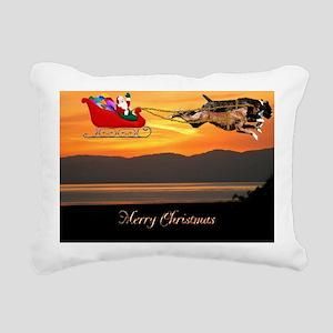 Christmas Card 1Fullsize Rectangular Canvas Pillow