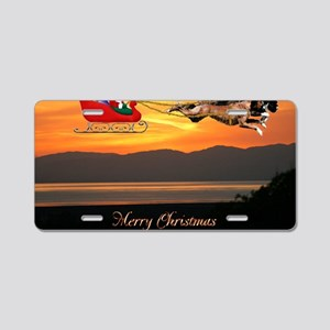 Christmas Card 1Fullsize Aluminum License Plate