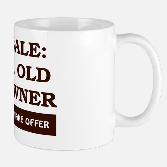For Sale 60 year old Birthday Mug