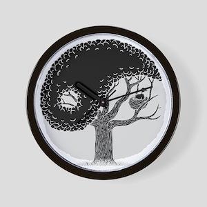 yin-tree-DKT Wall Clock