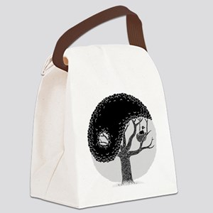 yin-tree-DKT Canvas Lunch Bag