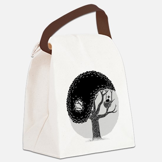 yin-tree-DKT Canvas Lunch Bag