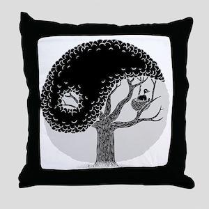 yin-tree-DKT Throw Pillow