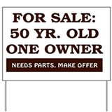 For sale 50 Yard Signs
