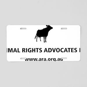 ARA Shirt Logo Aluminum License Plate