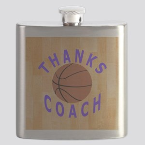 Basketball Coach Thank You Gift Magnet Flask
