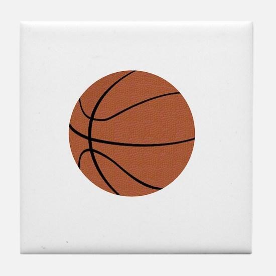 Thank You Basketball Coach Gifts Tile Coaster