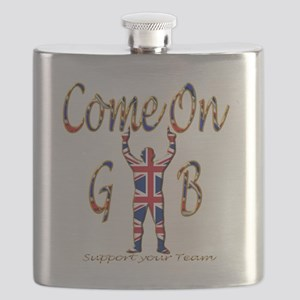 Come on GB Support your Team Flask