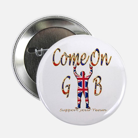 """Come on GB Support your Team 2.25"""" Button"""