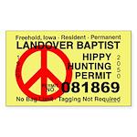 Hippy Hunting Permit