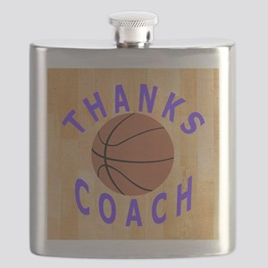 Thank You Basketball Coach Gifts Flask