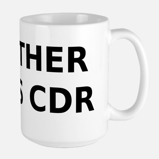 my-other-car-is-cdr Large Mug