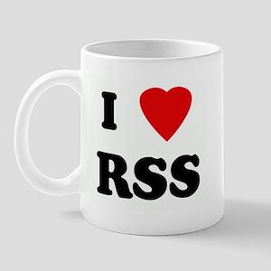I Love RSS Mug