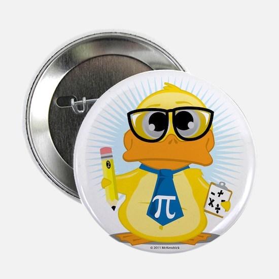 """Math-Duck 2.25"""" Button"""