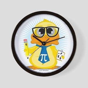 Math-Duck Wall Clock