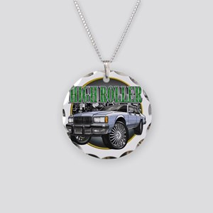 Donk_Caprice_Silver Necklace Circle Charm