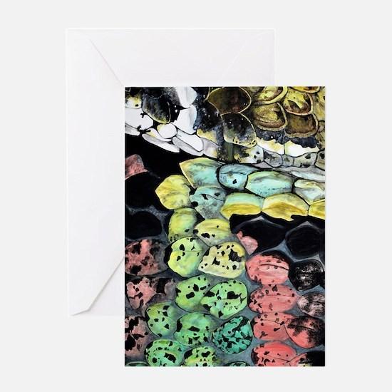lg-snake-journal Greeting Card