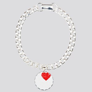 I Love Honey Badgers -dk Charm Bracelet, One Charm