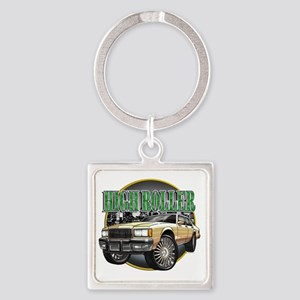Donk_Caprice_Creme Square Keychain