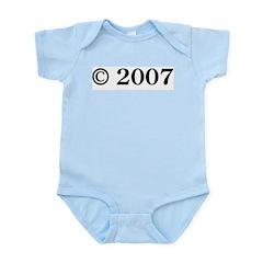 Copyright 2007 Infant Bodysuit