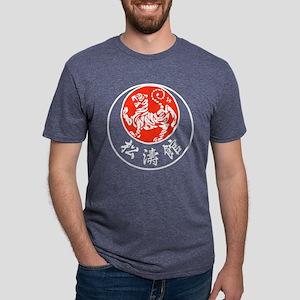 Rising Sun Tiger Mens Tri-blend T-Shirt