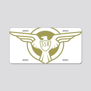SSR Aluminum License Plate