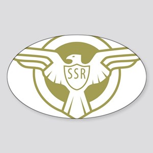 SSR Sticker (Oval)