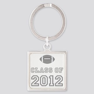 CO2012 Football Gray Square Keychain