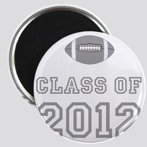 CO2012 Football Gray Magnet