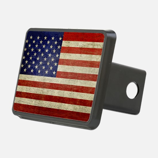 5x3rect_sticker_american_f Hitch Cover