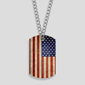5x8_journal_old_american_flag_usa Dog Tags