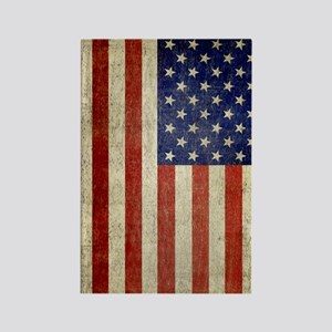 5x8_journal_old_american_flag_usa Rectangle Magnet
