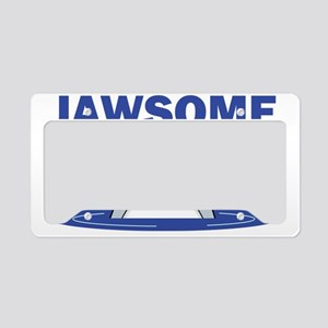 jawsome2 License Plate Holder