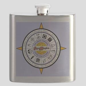 Compass 2011 - NEW PURPLE Flask