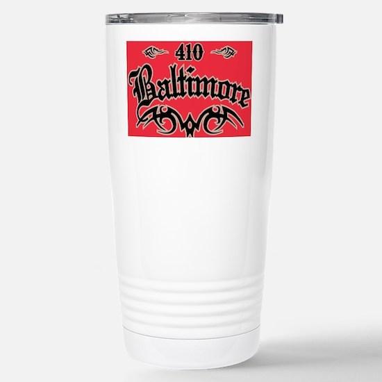 Baltimore 410 Magnet Stainless Steel Travel Mug