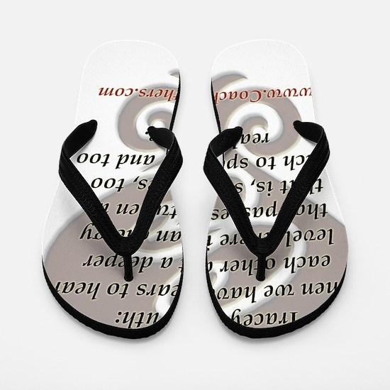 CC tshirt traceys truth lg 001 Flip Flops
