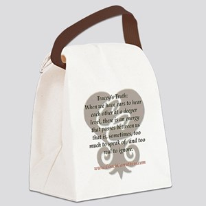 CC tshirt traceys truth lg 001 Canvas Lunch Bag